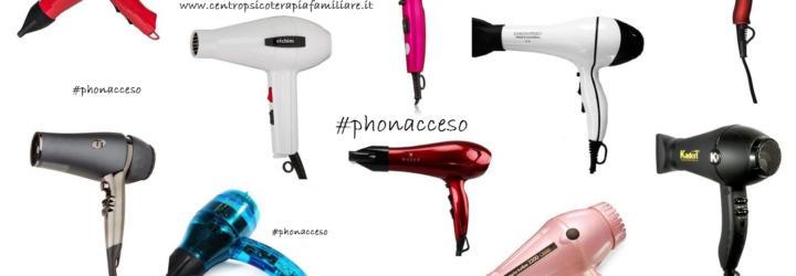 Progetto #phonacceso, un'indagine sull'utilizzo del phon